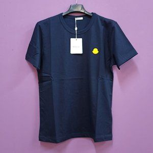 Moncler Men's Navy T-Shirt S/S 2020  NWT